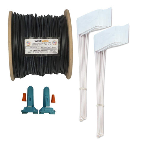 WiseWire® 14 gauge Boundary Wire Kit 1000ft - www.peterspetsupplies.com