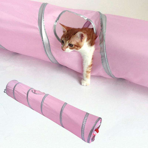Foldable Cat Tunnel - www.peterspetsupplies.com