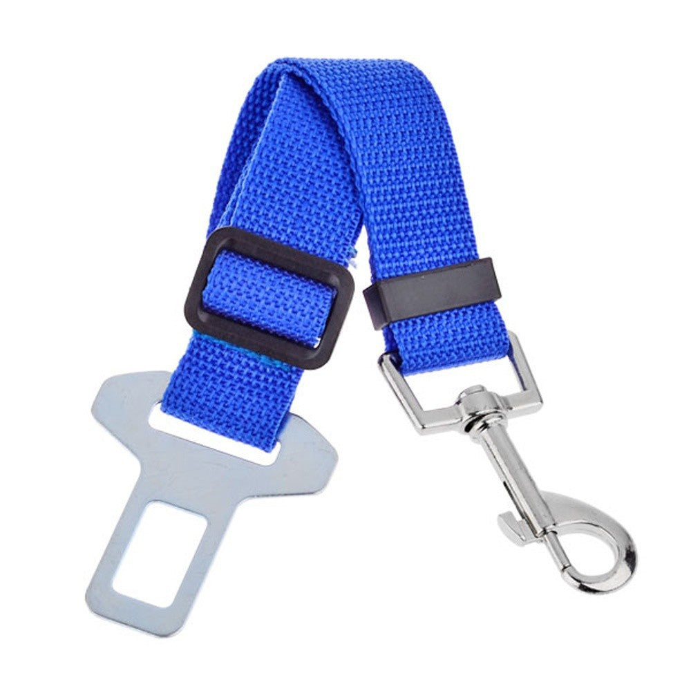 Pet Dog Adjustable Car Safety Seat Belt Dogs Pets  3 Colors - www.peterspetsupplies.com