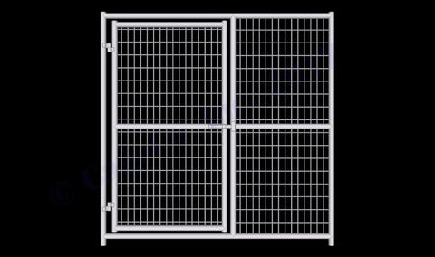 Image of Rhino Dog Kennel Gate Panel Heavy
