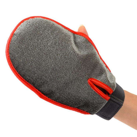 Glove For Combing and Grooming Dogs and Cats - www.peterspetsupplies.com