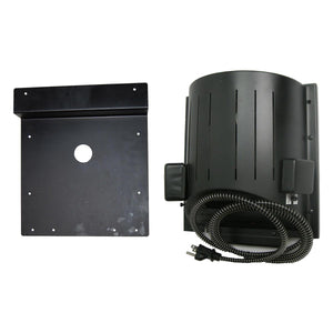 AKOMA Heat-N-Breeze Dog House Heater and Fan with Igloo Bracket - www.peterspetsupplies.com