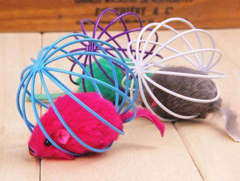 Rat In A CageToy for Cats