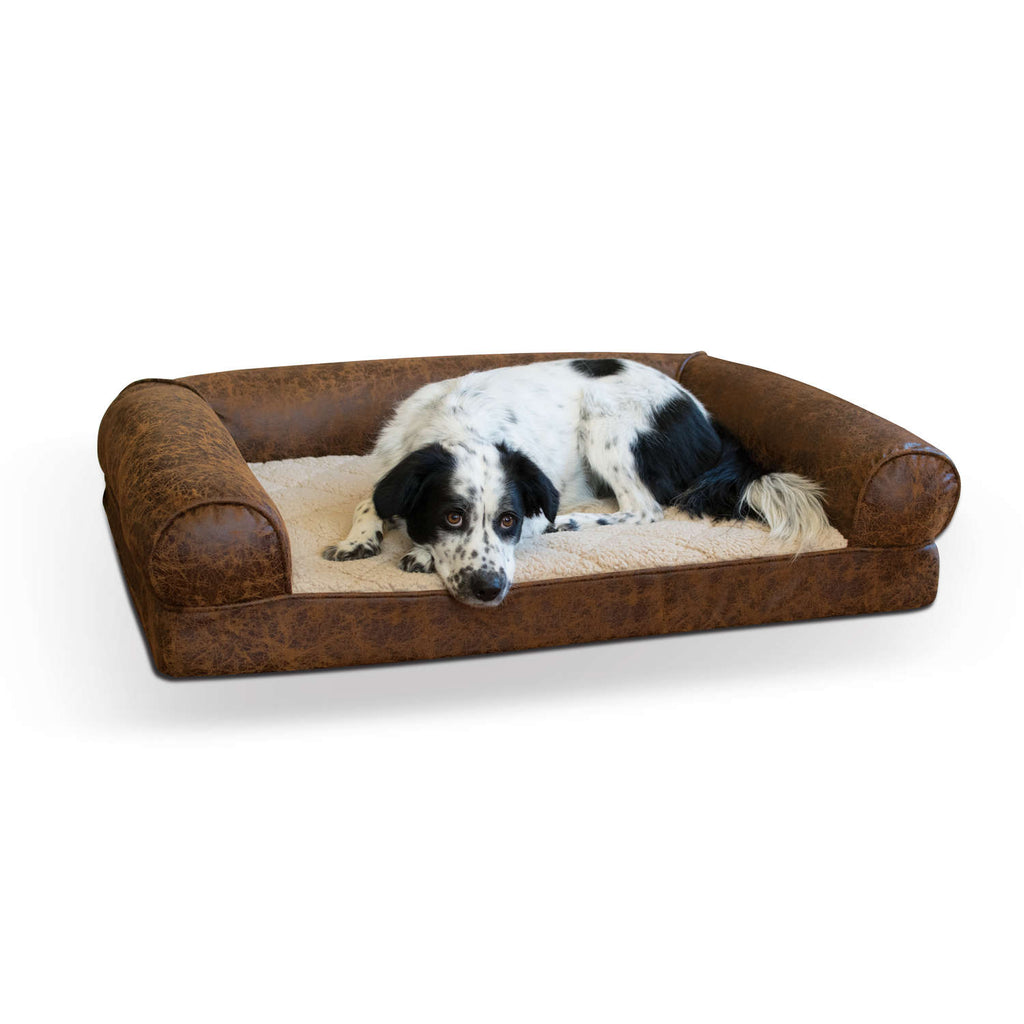 K&H Pet Products Bomber Memory Dog Sofa - www.peterspetsupplies.com