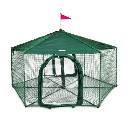 Kittywalk Gazebo Yard and Garden Outdoor Cat Enclosure - www.peterspetsupplies.com
