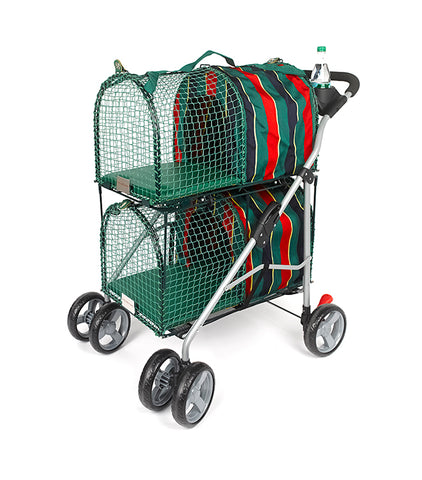 Kittywalk Double Decker Pet Stroller - www.peterspetsupplies.com