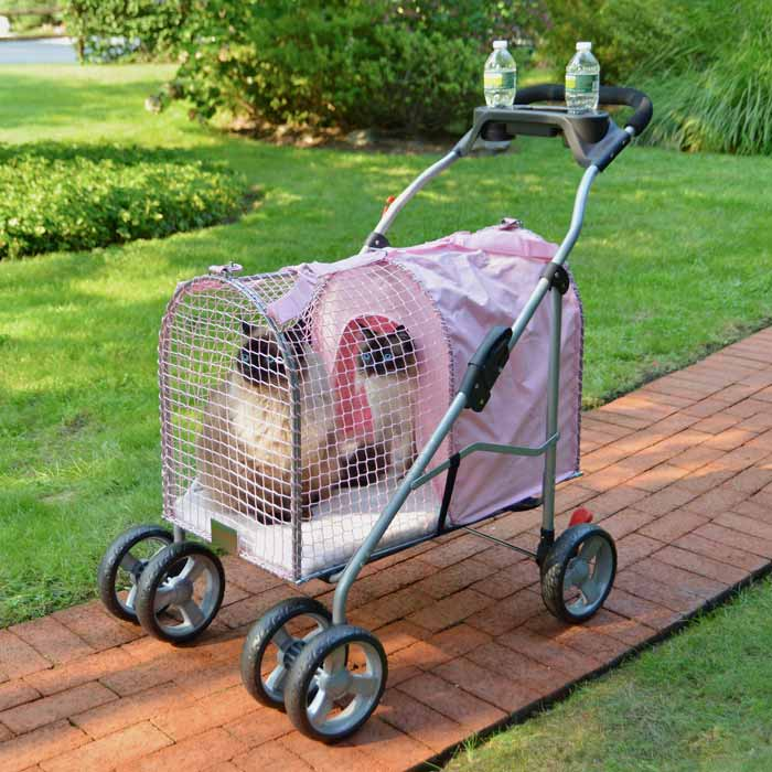 Kittywalk 5th Ave Pet Stroller SUV - www.peterspetsupplies.com
