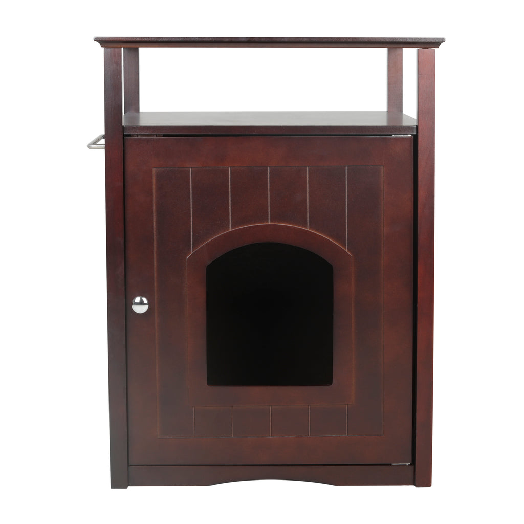 Cat Washroom Litter Box Cover / Night Stand Pet House - www.peterspetsupplies.com