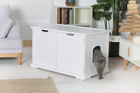 Image of Cat Washroom Bench - www.peterspetsupplies.com
