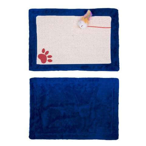 Cat Scratching Mat With Toys - www.peterspetsupplies.com
