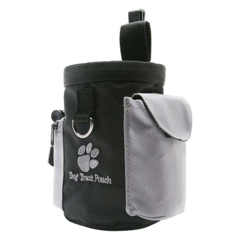 Image of www.peterspetsupplies.com:Nice Pet Dog Treat Pouch Dog Training Treat Bags Portable Detachable Doggie Pet Feed Pocket Pouch Puppy Snack Reward Waist Bag