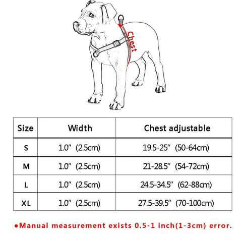 Image of No Pull Dog Harness Adjustable Step In Walking Pet Harnesses for Large Dogs - www.peterspetsupplies.com