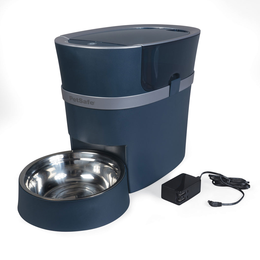 PetSafe Smart Feed Automatic Pet Feeder for iPone and Android Black - www.peterspetsupplies.com