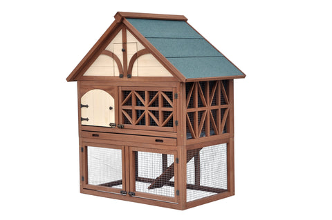 Image of Tudor Rabbit Hutch