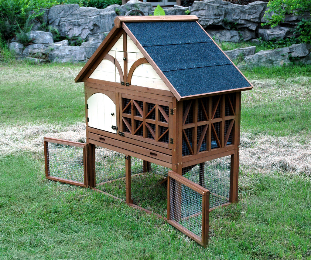 Tudor Rabbit Hutch
