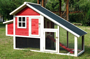 Habitat Chicken Coop, Red
