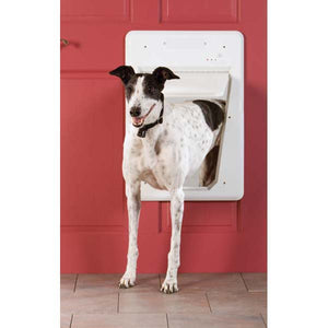 PetSafe SmartDoor Dog Door Large White - www.peterspetsupplies.com