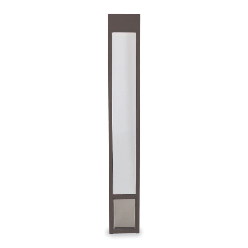 PetSafe Freedom Patio Pet Door for Sliding Doors Medium Bronze - www.peterspetsupplies.com