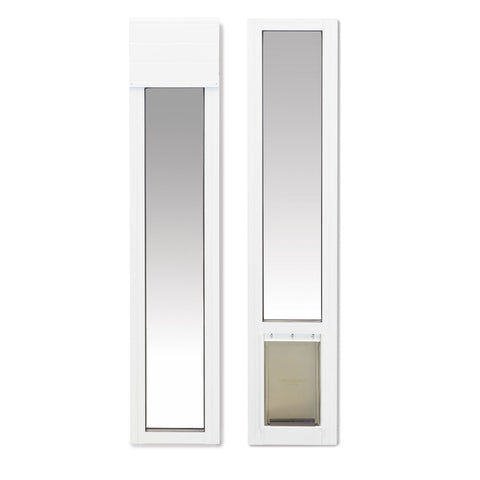 PetSafe Sliding Glass Pet Door White - www.peterspetsupplies.com