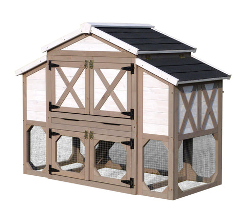 Country Style Chicken Coop - www.peterspetsupplies.com