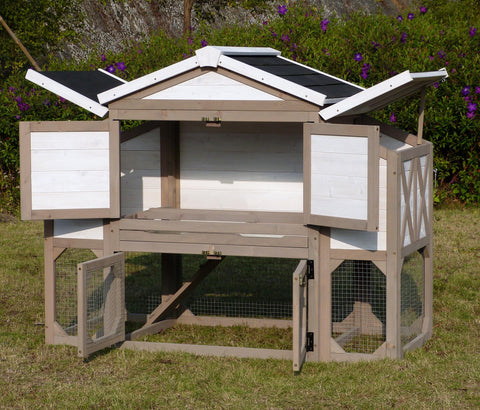 Image of Country Style Chicken Coop - www.peterspetsupplies.com