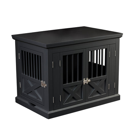Triple Door Dog Crate