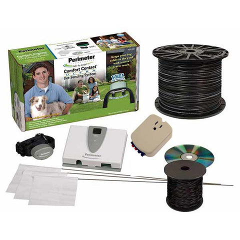 Perimeter Technologies Deluxe Ultra Comfort Contact Plus System 18 Gauge Wire - www.peterspetsupplies.com