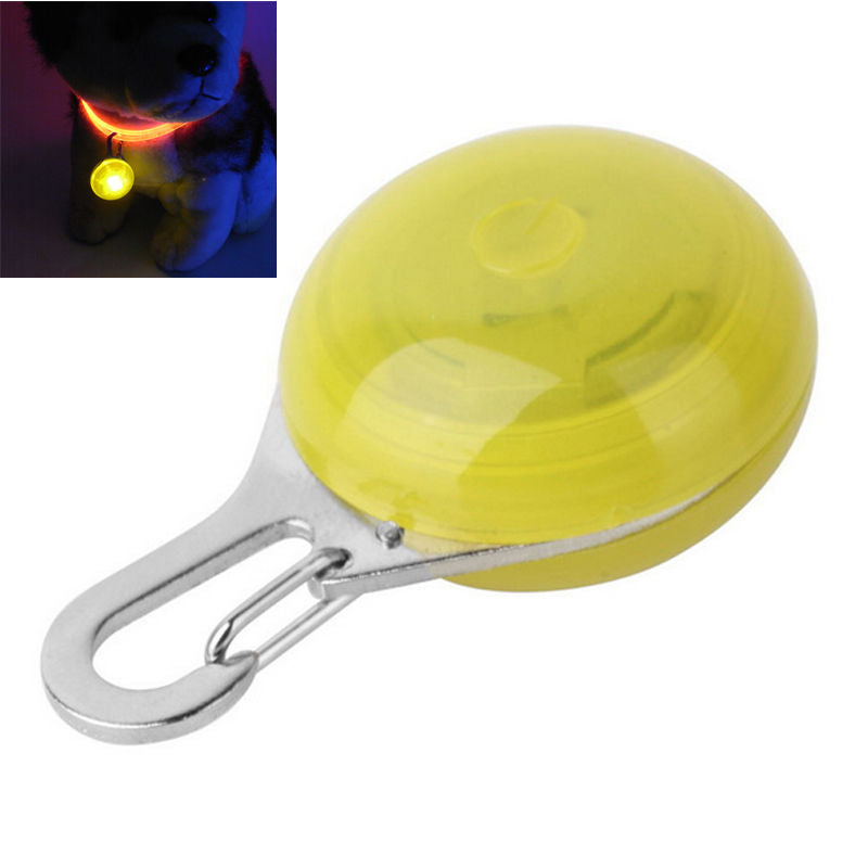 LED Flashing ID Tag Safety Pendant For Cats and Dogs - www.peterspetsupplies.com