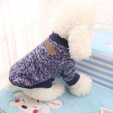 Pet Dog Clothes Chihuahua Winter Warm Cotton Cat Hoodies Sweatshirt Pet Coat Jacket Clothes for dogs roupas para cachorro - www.peterspetsupplies.com