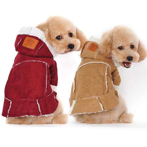 Pet Dog Clothes  Winter Dog Coat Jacket - www.peterspetsupplies.com