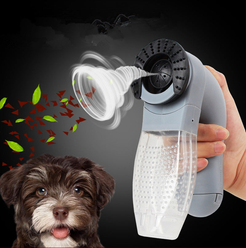 Cordless Electric Vacuum Pet Hair Remover Suction Device Brush Comb for Pets