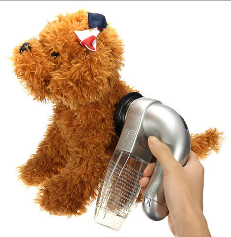 Image of Cordless Electric Vacuum Pet Hair Remover Suction Device Brush Comb for Pets