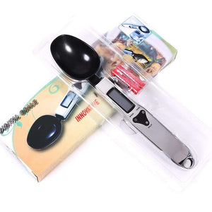www.peterspetsupplies.com:Portable LCD Digital Kitchen Measuring Spoon Scale Useful 500/0.1g Digital LCD Gram Kitchen Lab Spoon Scales Volume Food Weight