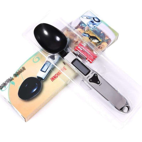 Image of Portable LCD Digital Kitchen Measuring Spoon Scale - www.peterspetsupplies.com
