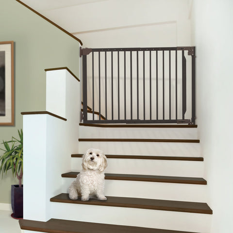 Image of Expandable Walk-Thru Pet Gate - www.peterspetsupplies.com
