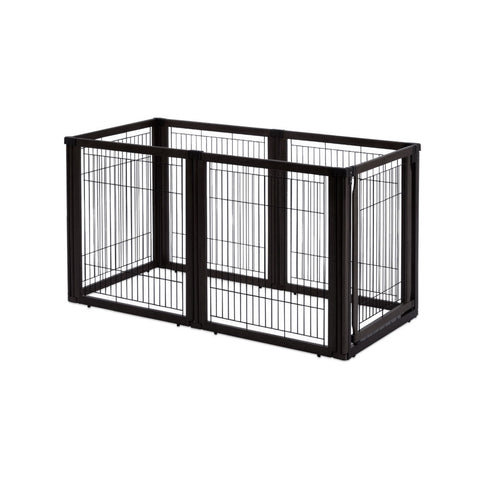 Image of Convertible Elite Pet Gate 6 Panel - www.peterspetsupplies.com