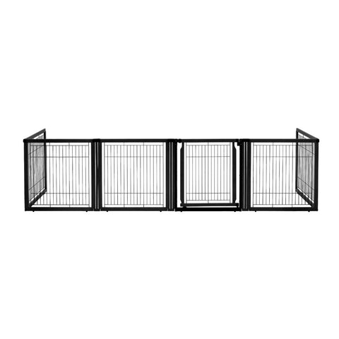 Convertible Elite Pet Gate 6 Panel - www.peterspetsupplies.com