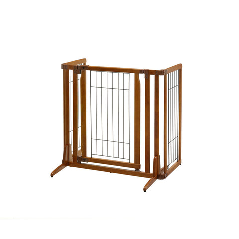 Image of Premium Plus Freestanding Pet Gate with Door