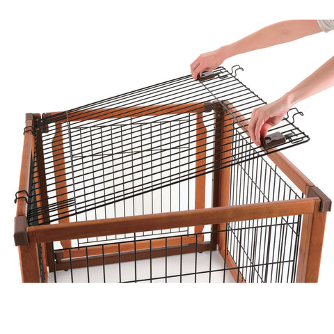Image of Convertible Elite Wire Top Version 2 - www.peterspetsupplies.com