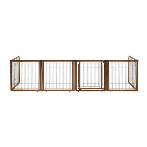 Image of Convertible Elite Pet Gate 6 Panel H6 - www.peterspetsupplies.com