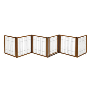 Convertible Elite Pet Gate 6 Panel H6 - www.peterspetsupplies.com