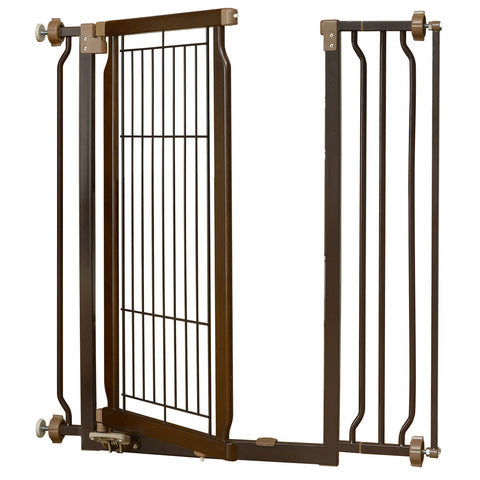 Hands-Free Pressure Mounted Pet Gate - www.peterspetsupplies.com
