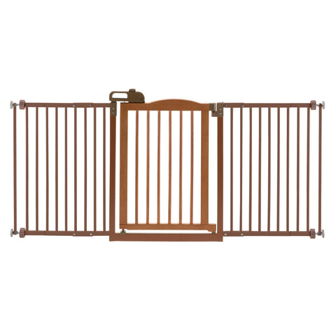 One-Touch Wide Pressure Mounted Pet Gate II - www.peterspetsupplies.com