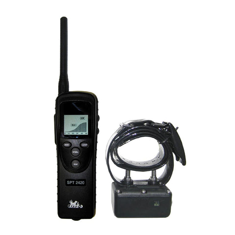 D.T. Systems Super Pro e-Lite 3.2 Mile Remote Dog Trainer - www.peterspetsupplies.com