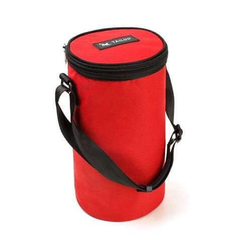 Collapsible Dog Travel Dry Food Container Waterproof Bag 3 Colors - www.peterspetsupplies.com