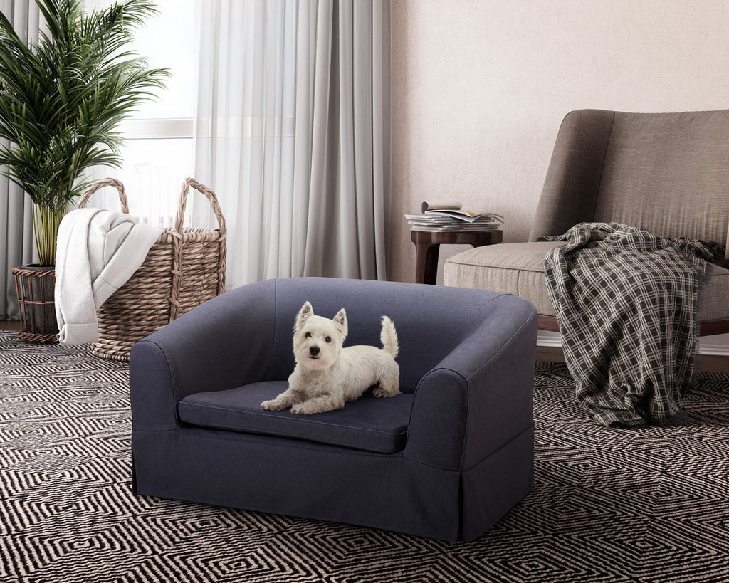 Molly Linen Pet Bed - www.peterspetsupplies.com