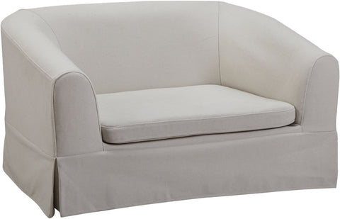Image of Molly Linen Pet Bed - www.peterspetsupplies.com