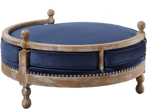 Image of Hound Navy Pet Bed - www.peterspetsupplies.com