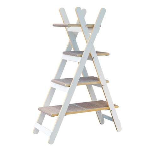 Image of Modern Folding Cat Tree - www.peterspetsupplies.com