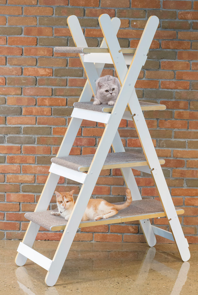 Modern Folding Cat Tree - www.peterspetsupplies.com